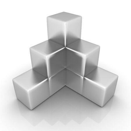 Metall block diagram photo