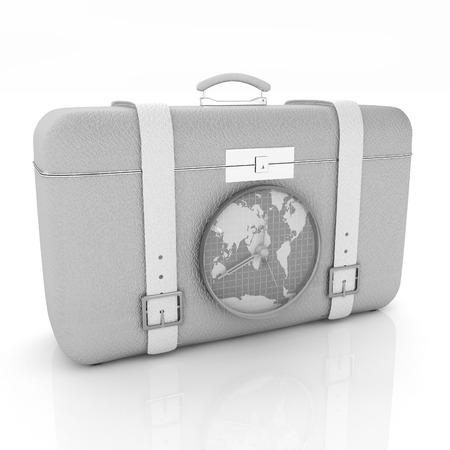 Suitcase for travel photo