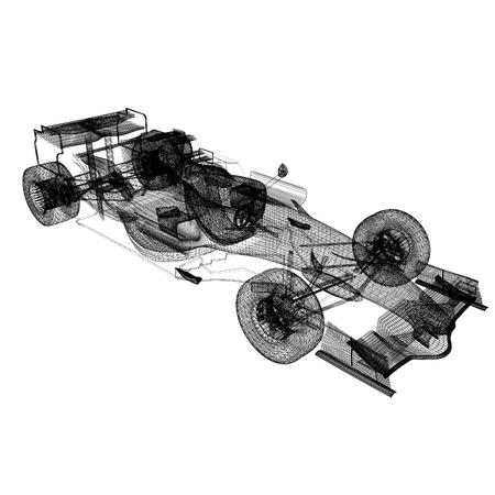 qualify: Formula racing car