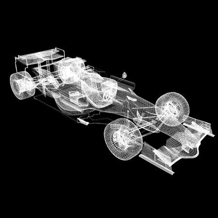 formula one: Formula One Mesh Stock Photo