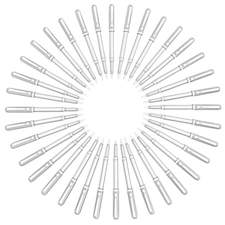 corporate pen design photo