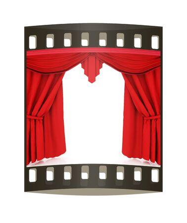 cortinas rojas: Cortinas rojas. La tira de pel�cula