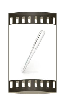 metall: Metall corporate pen design. The film strip