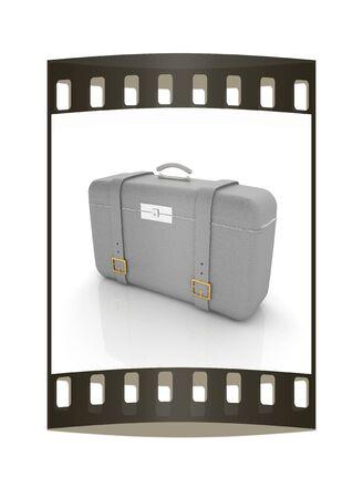 travelers: travelers suitcase. The film strip