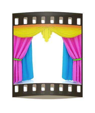 colorfull: Colorfull curtains. The film strip