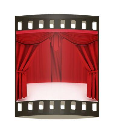 cortinas rojas: Cortinas rojas. La tira de película