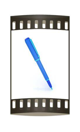 clerical: corporate pen design. The film strip