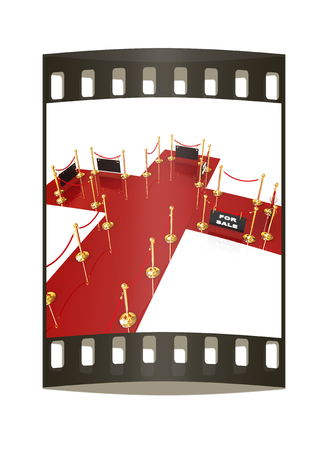 Exhibition for you success. The film strip photo