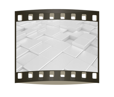 carpeting: Abstract carpeting urban background. The film strip