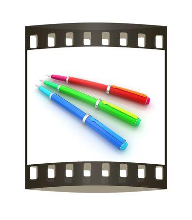 clericalist: corporate pen design. The film strip