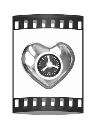 safe heart. The film strip Reklamní fotografie