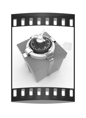 accountig: safe - gift. The film strip