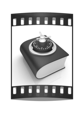 authorization: Information security concept. The film strip Stock Photo