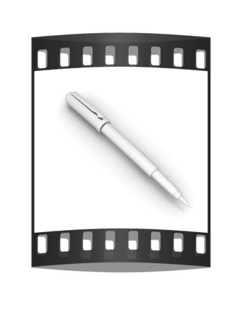 clericalist: Metall corporate pen design. The film strip