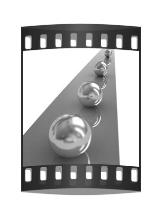 contrasts: the concept of motion. The film strip