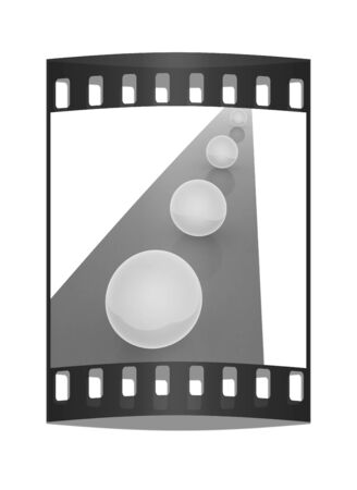 one lane street sign: the concept of motion. The film strip