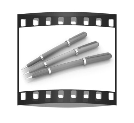 clerical: corporate pen design. The film strip