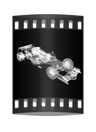 formula one: Formula One Mesh. The film strip