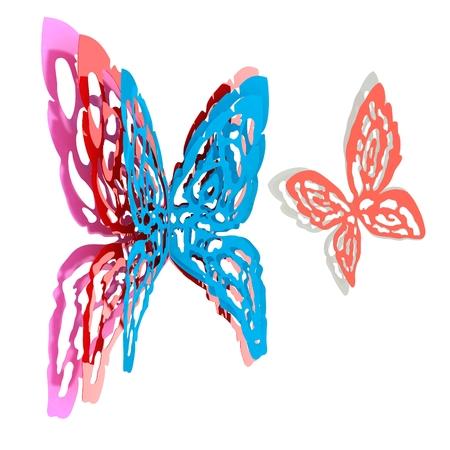 weightlessness: Butterfly interior design