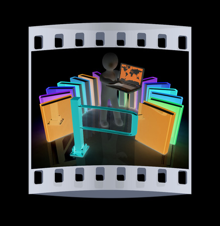 Film strip control