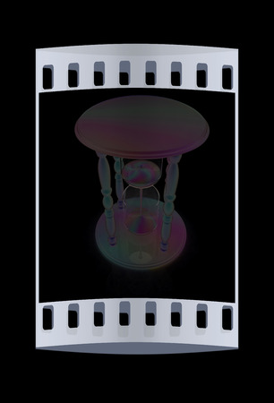trickling: Fantastic hourglass. The film strip