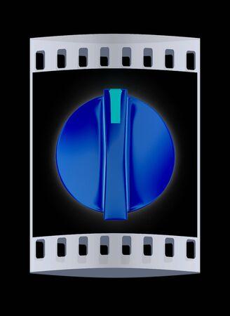 max: 3d knob. The film strip