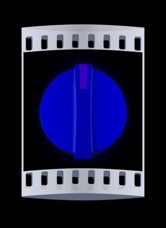 knob: 3d knob. The film strip