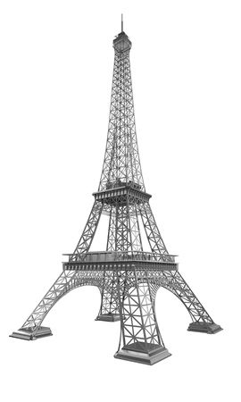 Eiffel Tower: 3d Eiffel Tower render Stock Photo