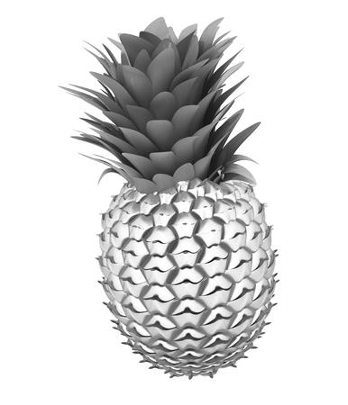 metall: Abstract metall pineapple
