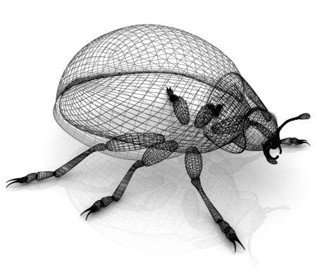 luxe: beetle Stock Photo
