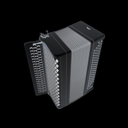 concertina: Musical metal icon instruments - bayan