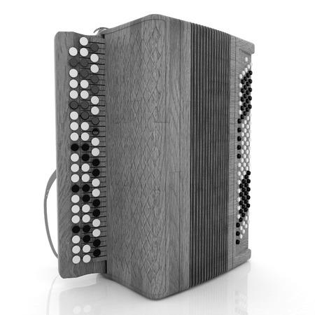 concertina: Musical instrument - retro bayan