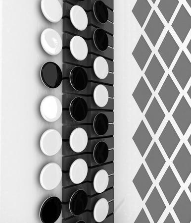 concertina: Musical instruments - bayan, close-up