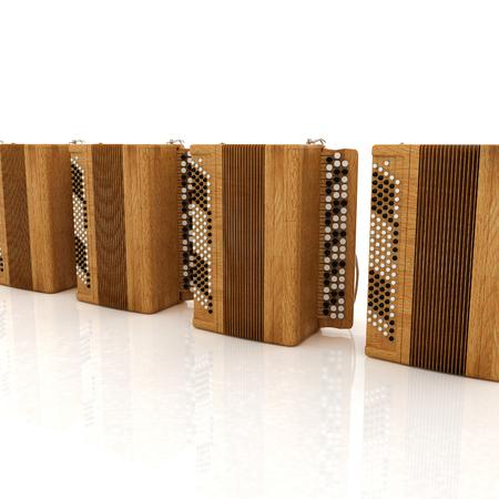 concertina: Musical instruments - retro bayans