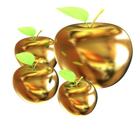 and gold: Gold apples