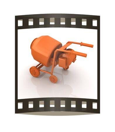concrete mixer: Concrete mixer Stock Photo