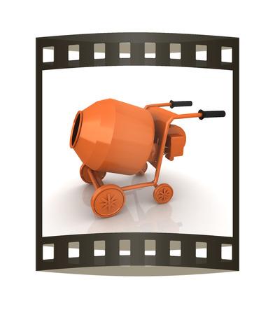 electrically: Concrete mixer Stock Photo
