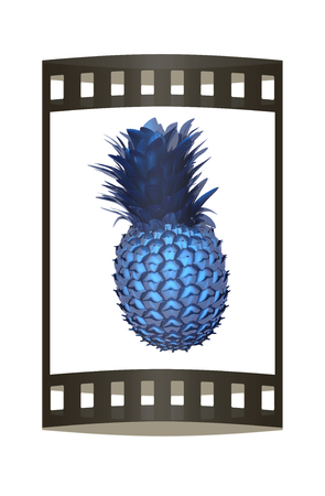 tropical drink: Abstract pineapple