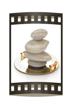 lastone: Spa stones on tray