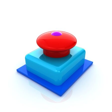 3d: Emergency Button 3d icon
