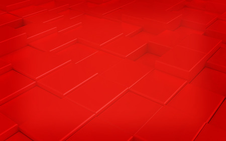 carpeting: Abstract red carpeting urban background. 3D illustration. Vintage style.