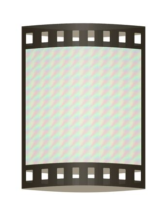 pulsing: abstract optical illusion background. The film strip Stock Photo