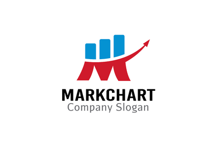 Mark Chart Design Illustration 일러스트