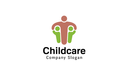 child care: Children Care Design Illustration