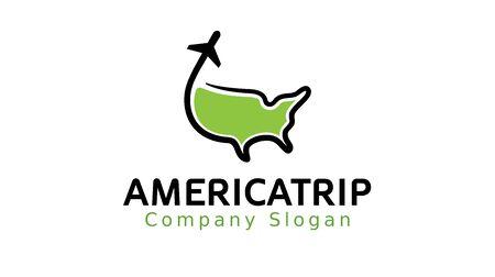 employ: Trip America Design Illustration