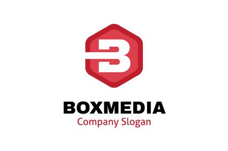 Box Media Hexagon Design