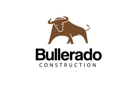 strong bull: Bullerado Design Illustration
