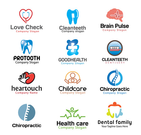 hospice: Medical Symbol illustrations Design Illustration