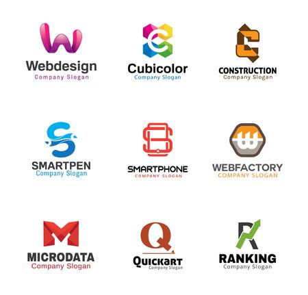Glossy Creative Letters Design  Illustration Illustration