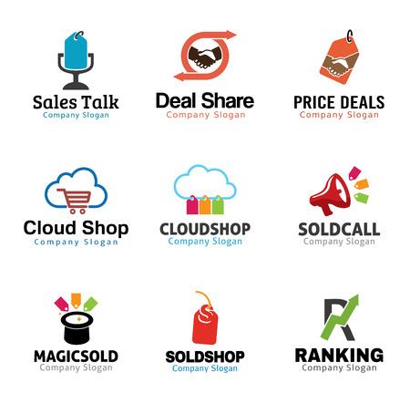 Shop Marketing Design Illustration